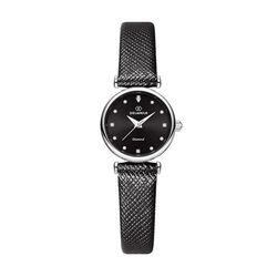 [본사정품] 디유아모르 DAW3202L-BK 가죽 여성시계