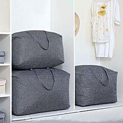 패브릭 방수 이불정리함 대형 옷 의류 수납 정리함