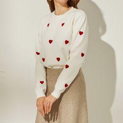 하트 에디션 스웨터 DAKL20DE1