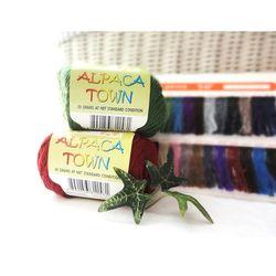 알파카 타운 이태리 목도리 옷 뜨개 털실