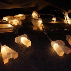 x-mas LED 메리크리스마스 전구