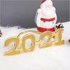 해피뉴이어 2021 안경 글리터골드