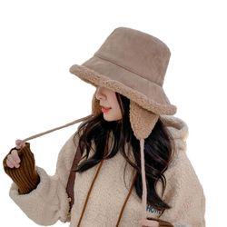 [무료배송] H-23 양털 귀마개 벙거지 겨울모자 등산 캠핑 벙거지 방한모자
