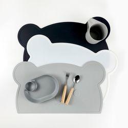 르디테일 실리콘 매트 (곰,토끼,구름)