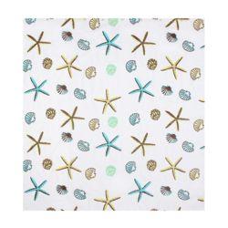 별가사리 패턴 샤워커튼(150x180cm)