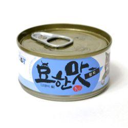묘한맛 고양이 캔 80g 참치 고양이 간식