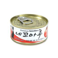 네꼬마루 참치 치킨 캔 80g