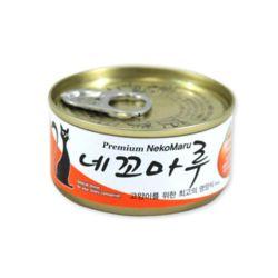 네꼬마루 참치 연어 캔 80g