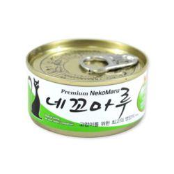 네꼬마루 참치 게살 캔 80g