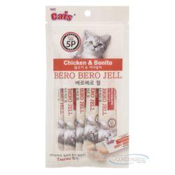 더캣츠 베로베로젤 닭 가다랑어 10gx5p 영양 보충