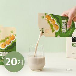 알뜰 두유 고칼슘 190ml x 20개 콩 단백질 식사대용