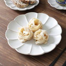 아이카 시로끼 원형 접시- 22cm