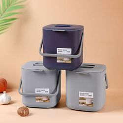 인블룸 미니 사각 음식물 쓰레기통 5L