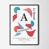 콤포지션4 M 유니크 디자인 인테리어 포스터 A3(중형)
