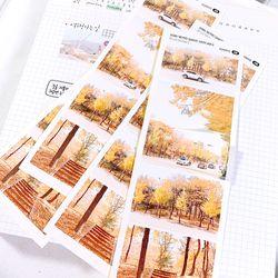 지극히 개인적인 감성사진 스티커 ver.3 (5 Cut Sticker) 4매