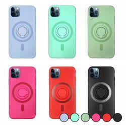 아이폰12미니 컬러 심플 스마트톡 실리콘 케이스 P241