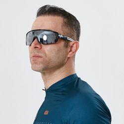 편광 미러렌즈 풀 프레임 MARS 자전거고글 매트블랙