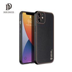 Dux Ducis 아이폰12시리즈 YOLO 심플 가죽 범퍼케이스