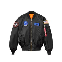 x 밸러3 USAF MA-1 Black