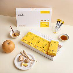 목에좋은 선물세트 국내산 꿀 도라지 배로 만든 꿀도배 10gx50개