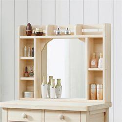 헨리 레드파인 화장대 수납 거울