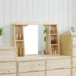헨리 레드파인 화장대 와이드수납거울