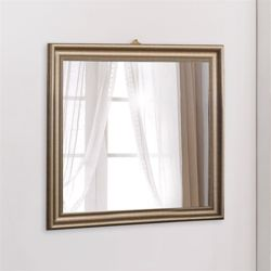 오프닝 골든 사각 반신 거울 벽걸이형