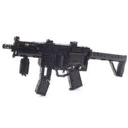 블록테크닉 MP5 전동소총 블럭총 전동블록 783pcs