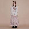 Lace Banding Skirt [Check]