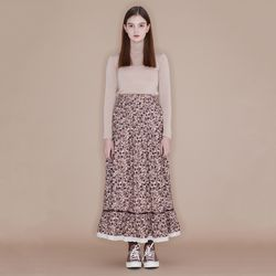 Lace Banding Skirt [Flower]
