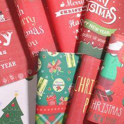 일러스트 크리스마스 테이블매트 식탁매트 (8type)