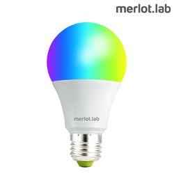 [메를로랩] 블루투스 LED 스마트전구 1600만풀컬러 앱연동