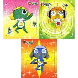 6 8 10조각 판퍼즐 - 개구리 중사 (3종) (홀로그램)