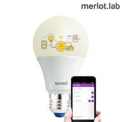 [소요리] LED 스마트전구 가전제품 원격제어 IOT
