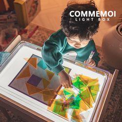 라이트박스  미술 빛 놀이 그림자 학습 교구 자작나무