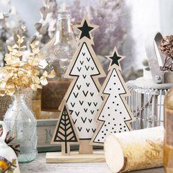 크리스마스장식 북유럽 패턴 트리장식 31cm