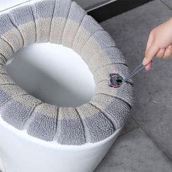 변기커버 변기카바 엉따 욕실변기커버 4개 1set (손잡이형커버)