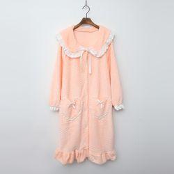 Soft Pink Night Dress N Robe