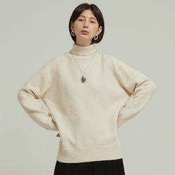 BASIC PULLOVER KNIT (IVORY)