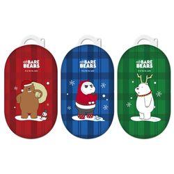 위베어베어스 크리스마스 코스튬 갤럭시 버즈 하드케이스