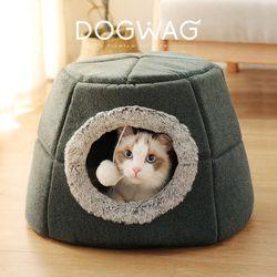 동굴 고양이 숨숨집 겨울 하우스 2종