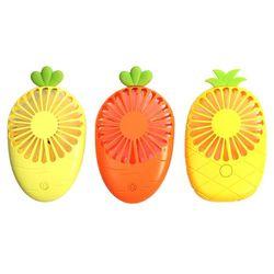 휴대용 과일 모양 2단 미니 선풍기