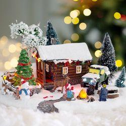 크리스마스 LED 오르골(가족캠핑)