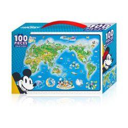 미키의 세계여행 - 100PCS 직소퍼즐