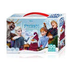 겨울왕국- 올라프 어드벤처 100PCS 직소퍼즐