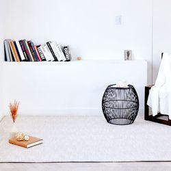 보카시 자가드 사각 러그 카페트 100x150cm