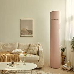 자수 에어컨커버 스탠드형 모먼트 핑크 대형와이드