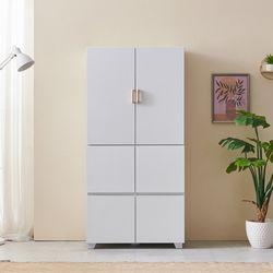 포코 800 냉장고형 주방수납 서랍형 상하부장세트 BER030
