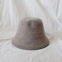 데일리 울 니트 벙거지 모자 (2color)
