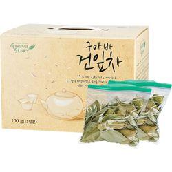 유기농 구아바잎차 (15일분) 100g (25gX4봉지)